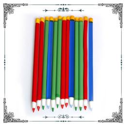 canetas de vidro por atacado Desconto Fabricante de dabber de caneta de vidro ferramenta colorida para acessórios de fumar