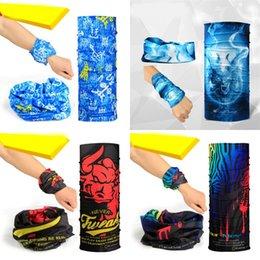 Bandana di headwear multi sciarpa online-Multi Function Coolchange Cycling Headwear Trend Popolare Bandana colorato per l'estate Cool Soft Touch Sciarpa per uomo e donna 4 8kg ZZ