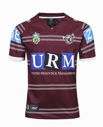 Wholesale Browning Eagle - 2017 New Zealand rugby Jersey Newcastle Knights Iron Patriot Brisbane MANLY SEA EAGLES 17 18 Rugby jersey MAN JERSEY