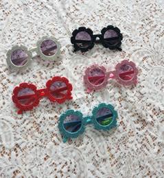 occhiali da sole del progettista del rhinestone Sconti Bambini strass occhiali da sole moda nuovi ragazzi e ragazze occhiali da sole lenti grigie bambini occhiali da spiaggia per bambini Designer Adumbral occhiali da sole A00511