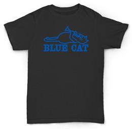 Nouveaux chevaux de troie en Ligne-1SIDE Nouveau T-SHIRT 2BLUE CAT RECORDS T-shirt TROJAN SKA T-shirt