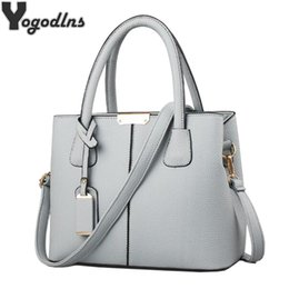 Women PU Leather Handbags Ladies Large Tote Bag Female Square Shoulder Bags  Bolsas Femininas Sac New Fashion Crossbody Bags d7c3727e15