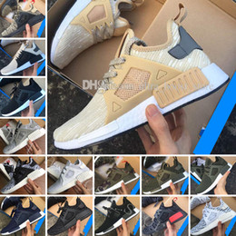 Wholesale hard plastic duck - New arrival XR1 R1 Duck CAMO BA7232 REAL BOOST Bottom With Nipples R1 XR1 Camo BA7232 Mens Casual shoes Box Receipt Keychain 36-45