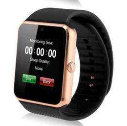 Canada Bluetooth Smart Montre Pour Porter Montre Smart Watch A1 Horloge Synchroniseur Notifier Support SIM TF Carte Connectivité pour Ios Android Smartwatch Offre