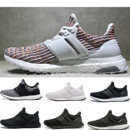 2018 New Best Quality Ultra Boost 4.0 Core Primeknit Runner Fashion  Ultraboost Athletic Sneaker Sports Shoes For Men Women Eur36-45 74008be31