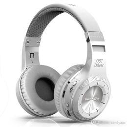 2018 100% первоначально Bluedio HT (Shooting Brake) Bluetooth наушники BT4.1Stereo Bluetooth гарнитура беспроводные наушники для телефонов музыки от
