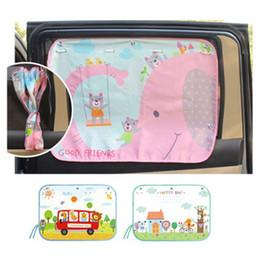 70 * 50 cm voiture bande dessinée rideau couverture soleil blocage auto rideau latéral blocage parasol pour enfants voiture-style 0255 ? partir de fabricateur