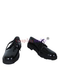 Wholesale Ken Costume - Tokyo Ghoul Kaneki Ken Black Daily Cosplay Shoes Boots X002