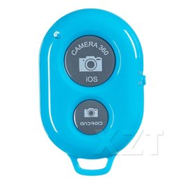 Wholesale android stick remote - Bluetooth Wireless Remote shutter Camera Phone Monopod Selfie Stick Shutter Self-timer Timer Remote Control for IOS Android