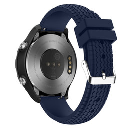 резиновые браслеты Скидка New Arrive 22mm Silicone Rubber Watchband Quick Release for Huawei Watch 2 Smartwatch Band Strap Bracelet Mar 27