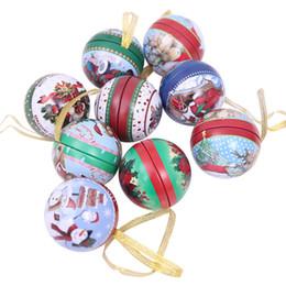 4a85500bc94 6.5 cm   2.6 pulgadas Creativo Árbol de Navidad Caramelo Bolas de Hierro  Colgante