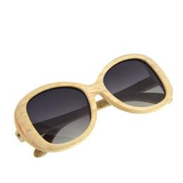 Handgemachte Polaroid Bambus Sonnenbrille Männer Frauen Anti-UV Holz Sonnenbrille Spiegel Original Holz Driving Outdoor Googles Brillen von Fabrikanten