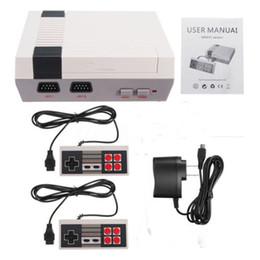 console de videogame portátil android Desconto Nova Chegada Mini TV pode armazenar 620 500 Game Console de Vídeo Handheld para consoles de jogos NES com caixas de varejo dhl