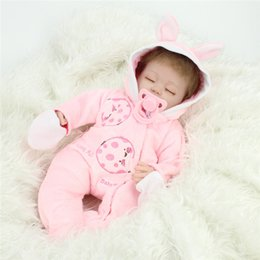 Wholesale Vinyl 24 - 17 inches Soft Silicone Reborn Baby Dolls Baby Alive Doll For Girls Handmade Vinyl Stuffed Toys Realistic NPK Doll