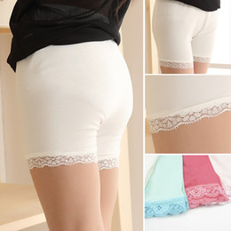 0b4fb97b9bc 6 Colors Summer fashion girls cotton short leggings lace short leggings for girls  lace safety pants shorts baby girl short tights