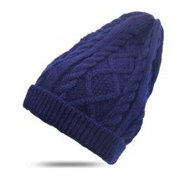 Wholesale Grey Knit Sweater - 1pcsWomen New Design Caps Women Winter Hat Knitted Sweater Fashion Beanie Hats For Women Gorros Bonnet Femme Skullies Beanies