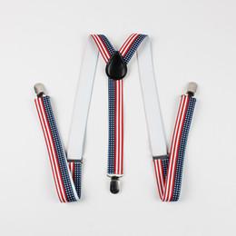 Wholesale Mens Clip Y Suspenders - Mantieqingway Men's Suspenders Anchors Plaid Belt Strap Y-shape Clips-on 3 Clip Suspenders Mens Accessories