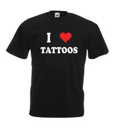 I LOVE TATTOOS funny tattoo NOVITÀ Men Women T SHIRT TOP size 8 10 12 14 s m l xl da dimensione 14 uomini fornitori