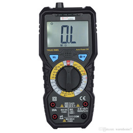 Wholesale Ac Current - Bside Digital Multimeters AC DC Current Voltage Temperature Capacitance Frequency Resistance Testers True RMS Meters