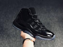 Wholesale air fibre - Real carbon fibre cap and gown men casual shoes sport 11S,air shoes brand suede fashion retros 11 men sneakers basketball