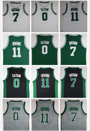 Wholesale fast drying - NCAA Wholesale 2018 Mens Embroidery 20 Gordon Hayward 42 Al Horford 11 Kyrie Irving Jerseys 0 Jayson Tatum Basketball Jerseys Fast Shipping