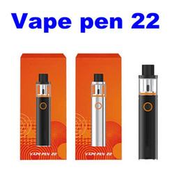 Wholesale E Vapes - smok smoktech vape vapes pen 22 start kit kits mod mods tank tanks smoke smoking vaporizer pens e electronic cigarette ecig clone clones