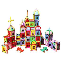 Wholesale Construction Pieces - Magnetic Building Blocks Set, ADiPROD 376 Pieces Educational Toys Construction Building Sticks Kit Stacking Toys Set, Non-Toxic BPA Free Toy