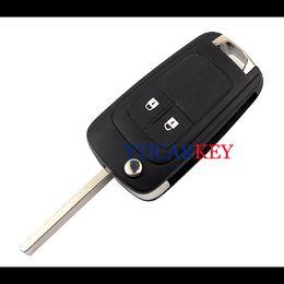Wholesale flip key alarm - DHL CAR for Buick Chevrolet Opel flip key Case