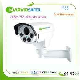 Wholesale hd ip camera 12mm - New 960P 1080P 4MP H.265 FULL HD POE IP67 Waterproof PTZ IP Network Camera 2.8-12mm 4X Motorized Auto-focol Lens, Onvif