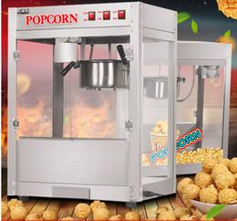 Milho americano on-line-Comercial elétrico Americano máquina de pipoca bola redonda máquina de pipoca Popping Corn Kernels máquina de boa qualidade frete grátis 110 v / 220 v
