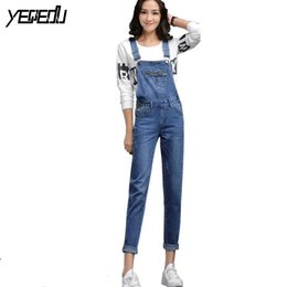 89eddbd15dc7  2614 Bandage jumpsuit Denim overalls women Macacao jeans Rompers womens  jumpsuit Fashion Body feminino Combinaison femme sexy