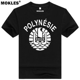 Wholesale custom college shirts - FRENCH POLYNESIA t shirt diy free custom made name number pyf t-shirt nation flag pf french college university print 0 clothing