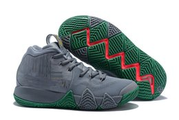 Wholesale Green Guardian - 2018 Kyrie Irving 4 City Guardians Basketball Shoes Irving 4 Sports Sneakers High Quality Size 40-46