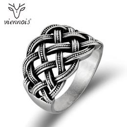 viennois klingelt Rabatt Viennois Vintage Silber Farbe Frauen Kreuz Finger Ringe Retro Style Größe Ring Weibliche Partei Schmuck