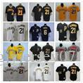 Wholesale Brown Person - Embroidery Pittsburgh Pirates#21 Roberto Clemente Mens Women Youth Custom Majestic Stitched Baseball Jerseys Personal name Person number