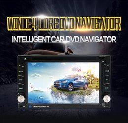 2019 navegación pantalla táctil coche audio 2 Din Universal Bluetooth Car Reproductor de DVD Navegación GPS 6.2 pulgadas Pantalla táctil capacitiva Car Audio FM Radio Estéreo navegación pantalla táctil coche audio baratos