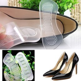 Canada 2017 Haute Qualité Pro Anti-slip Gel Haut Talon Chaussures Coussins Doublure Grip Foot Care Inserts Pad Semelle cheap insoles for shoes high heel Offre