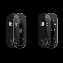 Centechia película protetora guarda para xiaomi mi banda 2 protetor de tela hd ultra fino anti-risco película protetora guarda 2 pçs / lote de