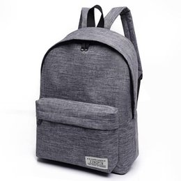 Chinese New Women Backpack Man Popular Solid Color Backpack For Woman School  Bag College Wind Small de10d21533920