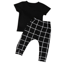 infant baby girl clothes sale Promo Codes - WO Best Sale 2pcs Newborn Infant Baby Boy Girl Clothes T-shirt Tops+Long Pants Outfits Sets, 70(Advice 0-6 Months)