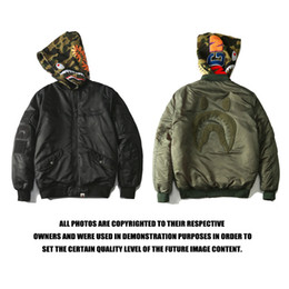 Wholesale Uniform Cardigan Sweater - Men street new style double zipper Hoodie sweater detachable camouflage hoodie coat jacket baseball uniform thickening of men and women