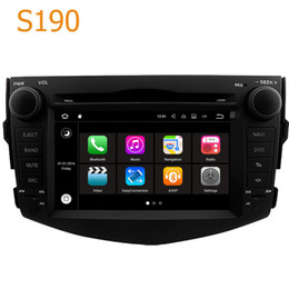 Wholesale Gps Navigation Systems For Toyota - Road Top S190 Android 7.1 System Quad Core CPU 2 Din Car Radio DVD Player GPS Navigation Head Unit Car Computer PC for Toyota RAV4 2006-2012