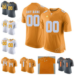 dbccf3ef4 Tennessee Volunteers 1 Jason Witten Jersey Men Youth 14 Eric Berry 4 John  Kelly 25 Aaron Medley College Football Custom Any Name Number