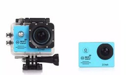 Wholesale Wholesale Professional Camcorders - Waterproof sports camera 2.0 Inch LCD Screen 1080P Full HD HDMI Camcorders Sport DV 30M Action Camera with wifi free shipping