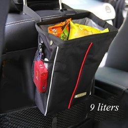 Wholesale Black Snacks - Car waterproof snack bag car decoration included supplies Child seat back included bags hang bag