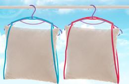 Spielzeugrahmen online-Neue 100 stücke Balkon winddicht rahmen feste kissen Multifunktionale kissen spielzeug wäscheständer wäscheständer hängen racks Net Home Container