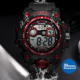 26cf5a9e704 8 Fotos Compra On-line Relógios para homens correndo-Multifuncional ao ar  livre à prova d