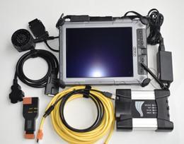 ISTA D / P multi idioma Para BMW ICOM Próxima Ferramenta de Programação de Diagnóstico com XPLORE ix104 robusto 4 gb laptop tela de toque pc de