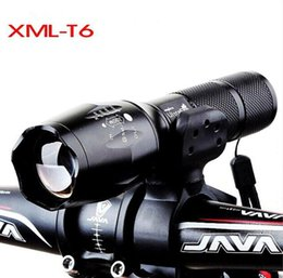 Mountainbike, Fahrrad Frontleuchte LED Mini Zoom Taktik T6 starke Licht Taschenlampe von Fabrikanten