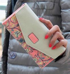 Long walet en Ligne-Célèbre Marque Designer De Luxe Longue Walet Femmes Portefeuilles Femme Sac Dames Argent Coin Femmes Bourse Purée Carteras Cuzdan